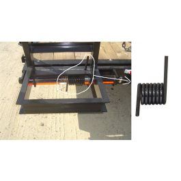 Coiled Ramp Torsion Spring Lh Detroit Hitch