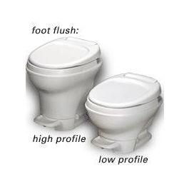 Toilet Aqua Magic V Foot Pedal Flush Detroit Hitch