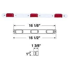 131780381925 moreover Used engine as well TM 9 2350 287 20 2 125 moreover Light Incan Id Light Bar 16 1 2 W 3 Red 107 Lights Peterson likewise Wipe arm versions. on rubber door covers