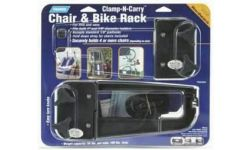 CLAMP-N-CARRY BIKE/CHAIR RACK