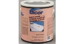 RUBBER ROOF COAT WHITE DICOR