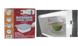 MICROWAVE COOKING COVERS