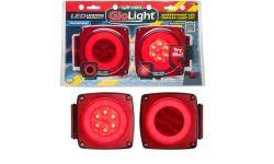 """LED TAILLIGHT KIT 5"""" SQUARE (GLO-LIGHT)"""