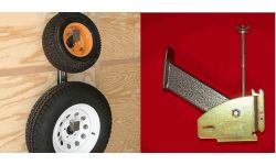 SPARE TIRE CARRIER - ENCLOSED (RACKEM)